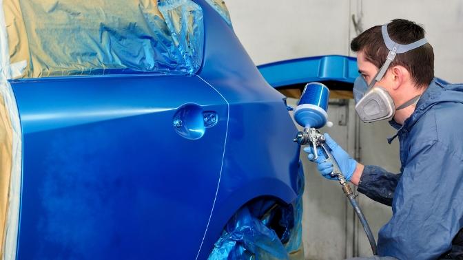 Цены на покраску машины в Москве