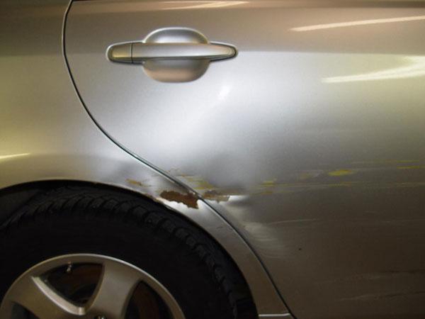 Кузовной ремонт двери
